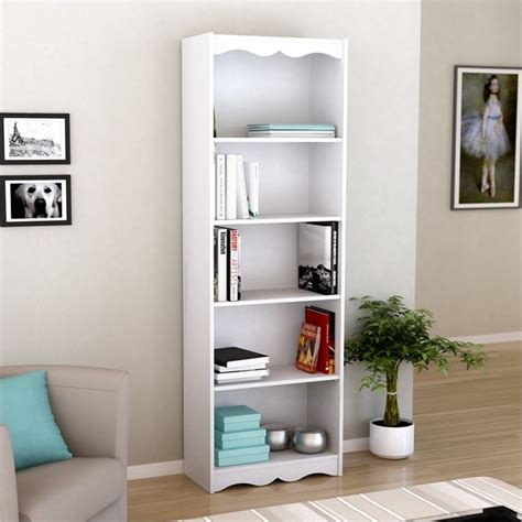 72 Tall Bookcase In Frost White S 217 Nhl 72 White Bookcase