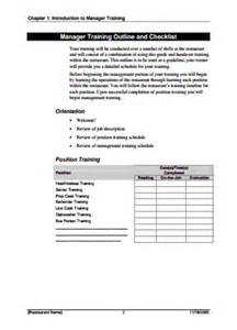 E Myth Operations Manual Template by Read Restaurant Manager Manual Template