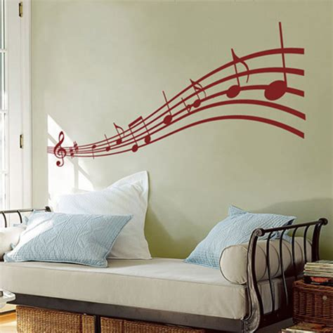 notes wall stickers notes wall decals note scroll wall decals