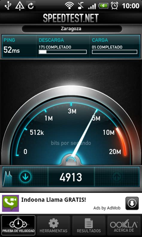 speed test cellulare speedtest net per android