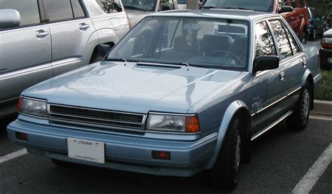 1991 nissan stanza 1991 nissan stanza information and photos zombiedrive