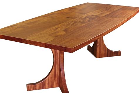 Devos Custom Woodworking Custom Trestle Style Tables Trestle Style Dining Table