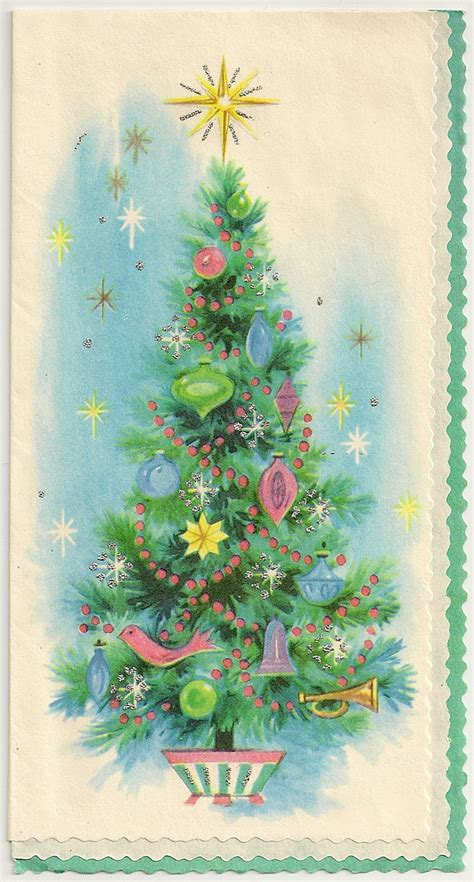 vintage christmas tree altered heart works freebies for you second vintage