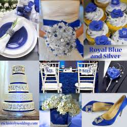 blue wedding color five combinations