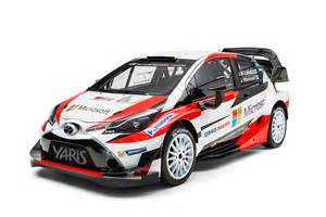 new toyota yaris wrc rally car revealed for 2017