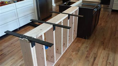 bar top supports kitchen island bar or counter height