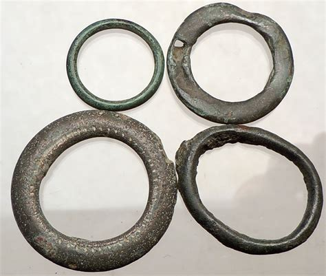 celtic 800bc ancient ring money proto coin collection lot