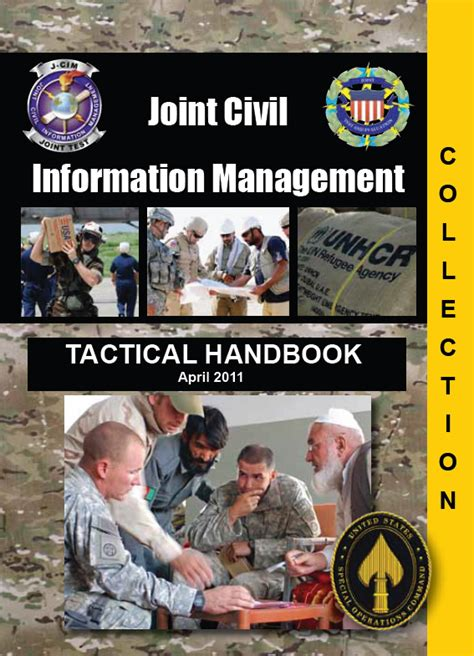 Handbook Of Information Management u fouo u s special operations command joint civil