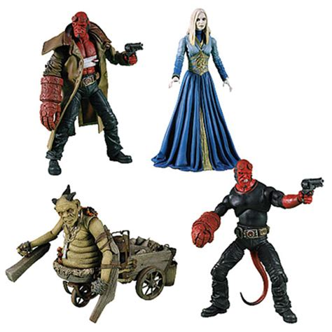 Figure Princess Nuala Mezco hellboy figures hellboy 2 golden army