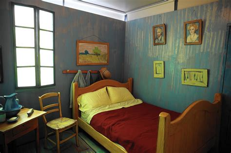 vangoghs bedroom inside van gogh s newest bedroom chicago tribune
