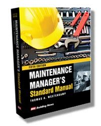 Maintenance Manager S Standard Manual 5e 9781557018106