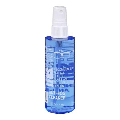 buy mansfield lensclean anti fog eyeglass cleaner in