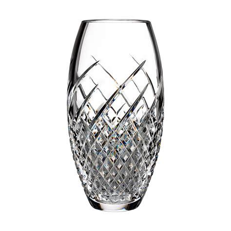 Vintage Waterford Crystal Vases Waterford Crystal Wild Atlantic Way Vase 25cm Waterford