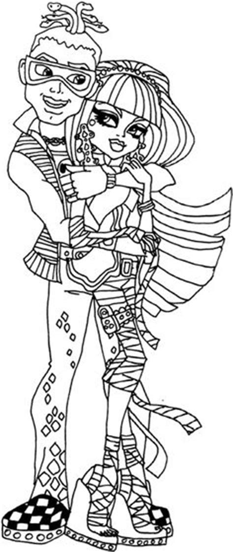 monster high coloring pages astranova monster high on pinterest monster high coloring pages