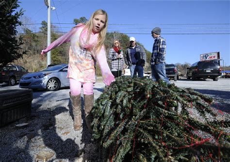 christmas tree demand starts strong in greater chattanooga