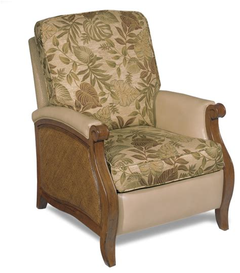 Print Recliner Chair Furniture Windward Recliner 1125 52010 Tropical