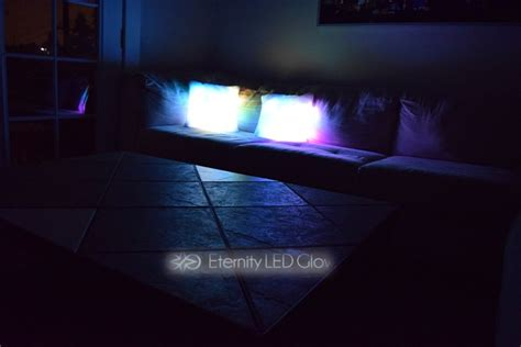 led couch led light up couch pillow eternity led