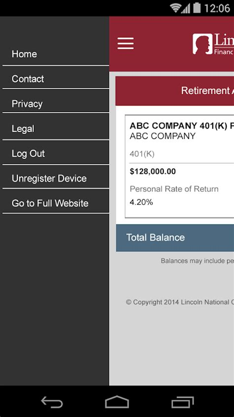 lincoln financial app lincoln financial mobile android apps on play