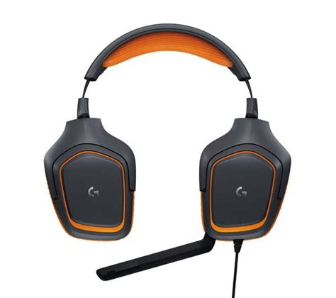 Logitech Prodigy Gaming Headset logitech g231 prodigy 2 1 gaming headset black orange deals pc world