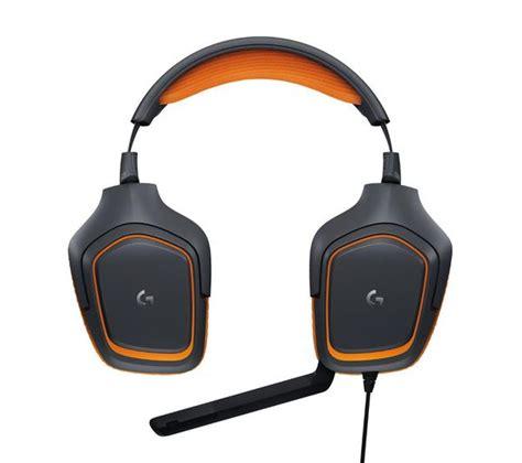 Logitech G231 Prodigy Gaming Headset Terjamin logitech g231 prodigy 2 1 gaming headset black orange