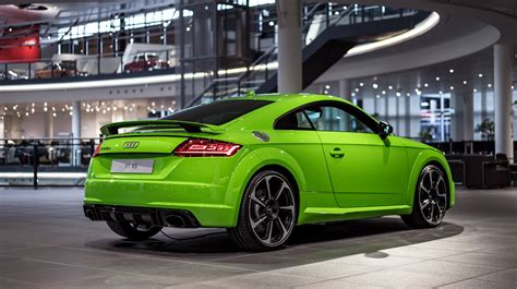 Jobs Audi Neckarsulm by Lime Green 2017 Audi Tt Rs At Audi Forum Neckarsulm Gtspirit