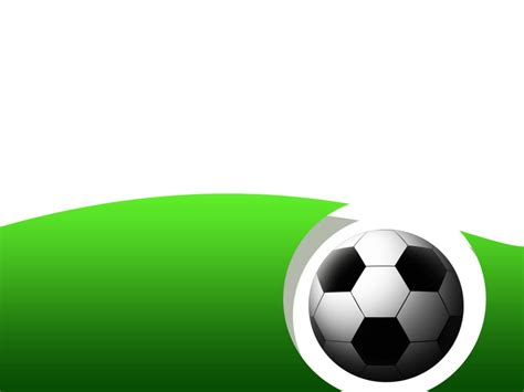 free soccer powerpoint template soccer football template clipart best