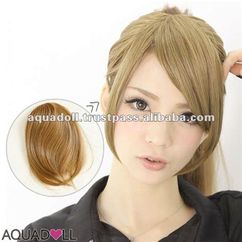 Types Of Wig Hair by Synthetic Lace Front Wig For Various Types Of Bangs