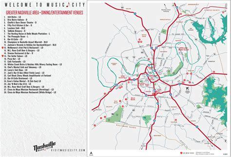 map usa nashville 100 downtown nashville map map u0026 directions to