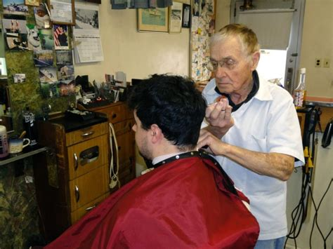 barber in milwaukee that will cut 1 year old george s barber shop cutting for 64 years in downtown