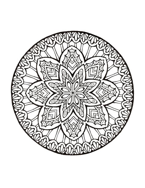 Mystical Mandala Coloring Book Mandalas To Color