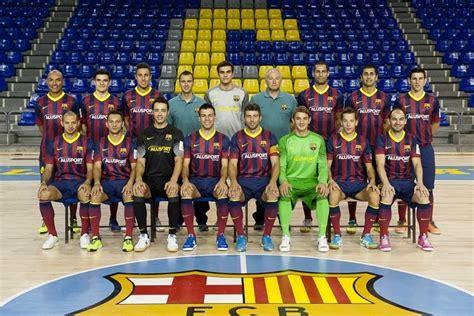 equipo futbol sala barcelona fc barcelona alusport general temporada 2013 2014