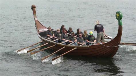viking cardboard boat race viking longboat races 2012 youtube