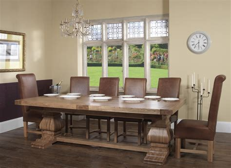 96 dining room ideas oak table oak dining room windermere rustic oak extending monastery dining table