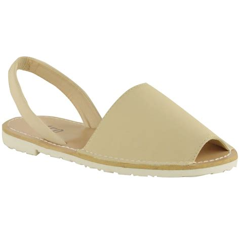 peep toe flat shoes womens summer menorcan peep toe sandals mules