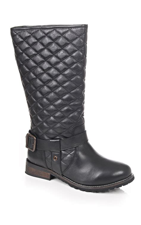 Black Quilted Boots by Barbour International Barbour International Frisco