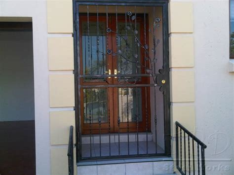 Front Door Security Door Security Iron Front Door Security Gates