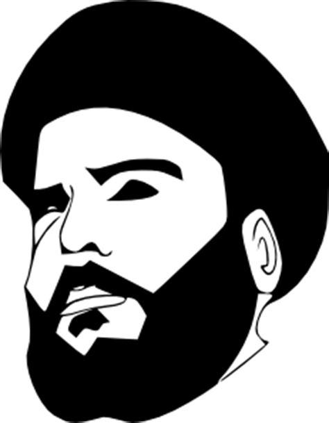 Kaos 18 Plus White muqtada al sadr clip at clker vector clip