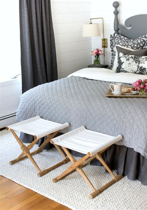 Stools In The Morning by One Room Challenge Master Bedroom Reveal Driven By Decor
