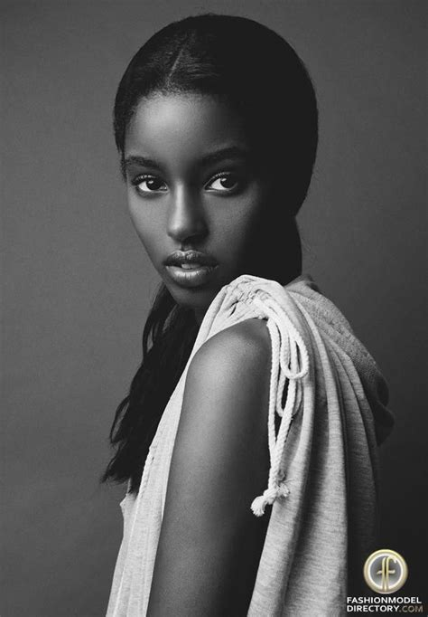 Top Model Style Black White Impor model senait gidey b l a c k w h i t e beautiful the throne and
