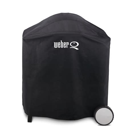 Weber Grill Cover by Shop Weber Q300 3000 Vinyl 39 In Gas Grill Cover At Lowes