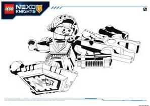 coloriage lego nexo knights aaron 1 dessin