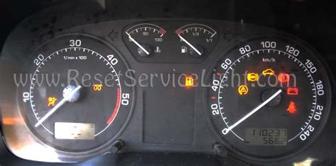 Airbag Light Reset by Reset Srs Airbag Light Skoda Octavia Mk1 1996 2011 Reset Service Light Reset