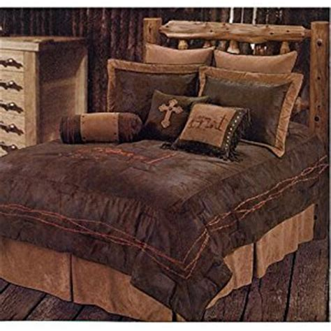 Cross Bedding Set Western Rustic Country Praying Cowboy Comforter Cross Bedding Set 5pc King Home