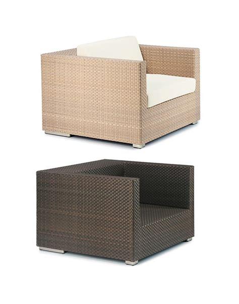 Lounge Sessel Rattan