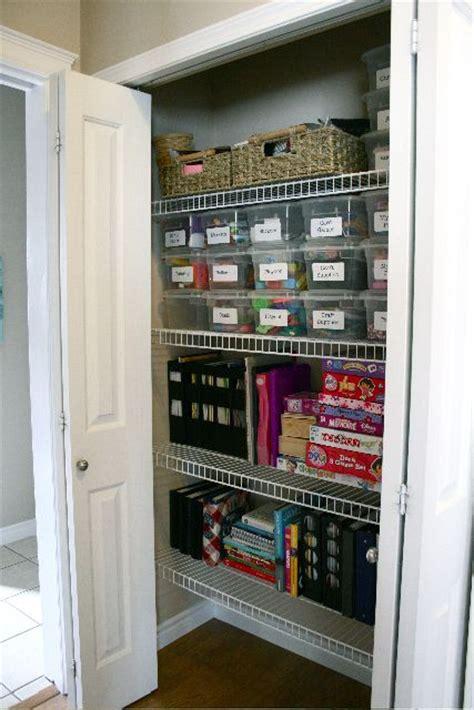 Craft Closet Organization Ideas What An Organized Craft Closet Organization