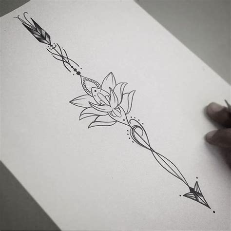 17 best ideas about arrow tattoo design on pinterest