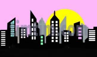 free drawing skyline sunrise category