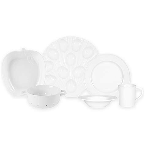 bed bath and beyond dinnerware everyday white 174 by fitz and floyd 174 bistro dinnerware bed