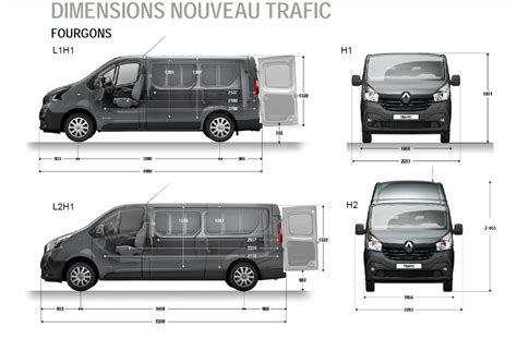 renault trafic dimensions renault trafic dimensions 28 images the blueprints
