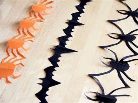 cadenas con rollos de papel manualidad para halloween guirnalda de papel youtube